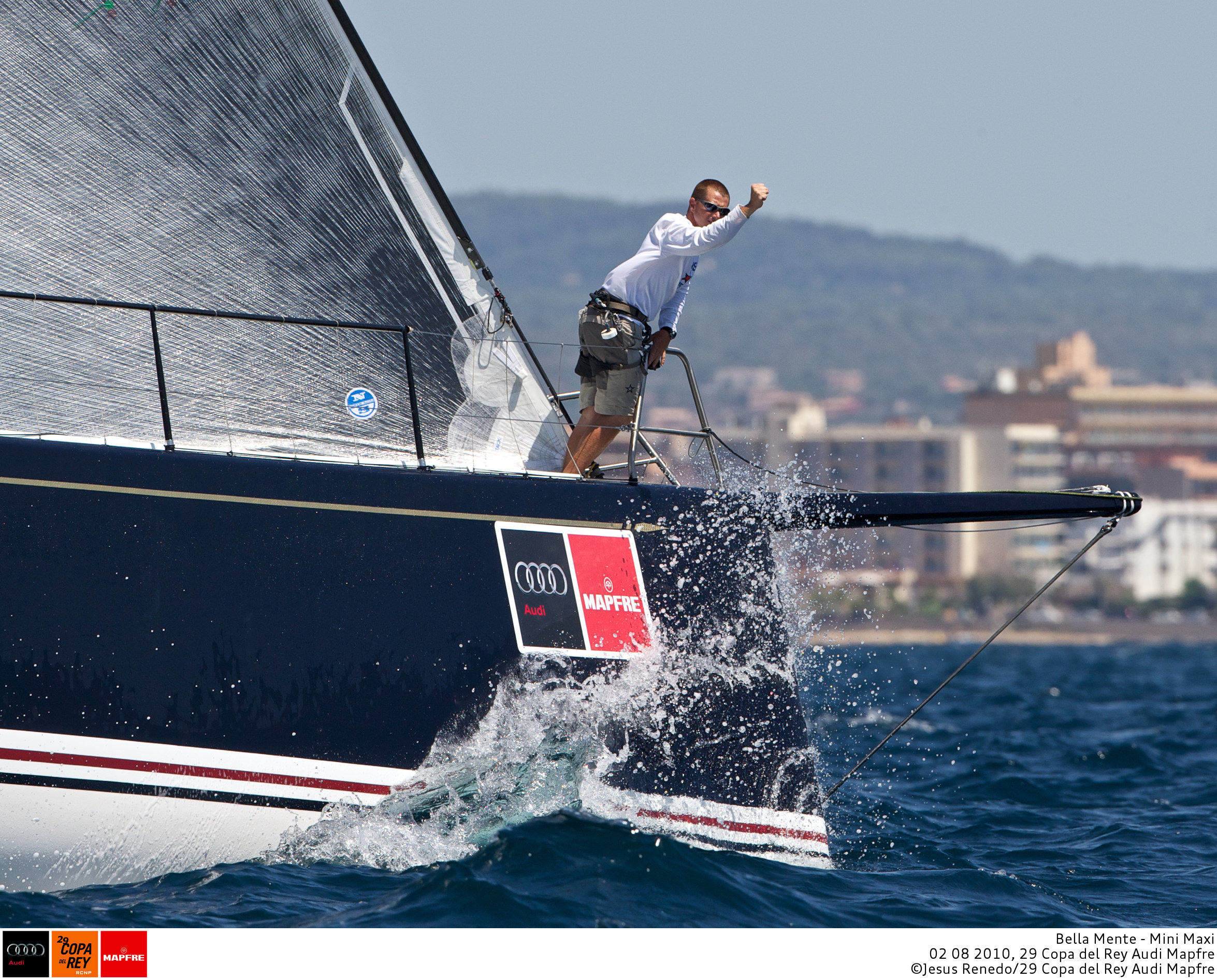 Bowman Doogie at the first day start of Copa del Rey