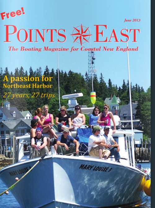 "Points East June2013: ""Bella Mente wins Mini Maxi Regatta"""