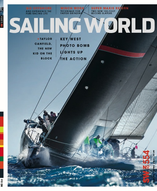 Sailing World March April 2014: On The Cover