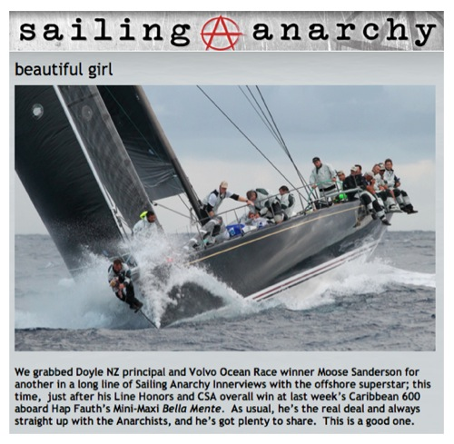 "Sailing Anarchy February 2014: ""Beautiful Girl"""
