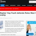 Hap Featured in Naples Daily News